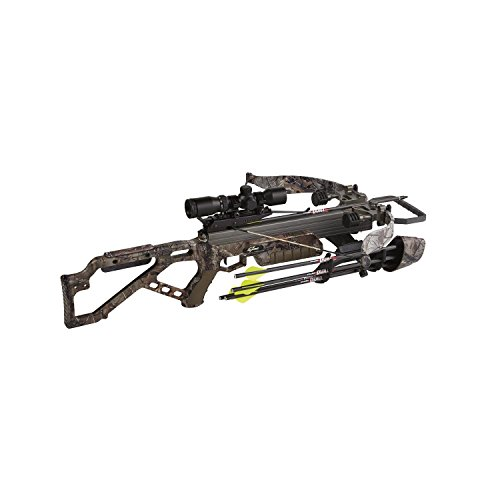 EXCALIBUR CROSSBOW Micro 335 Crossbow with APX Package/Scope (Draw Weight : 270-Pound), Realtree Xtra, Recurve