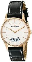 Jacques Lemans Damen-Armbanduhr XS London Analog Quarz Leder 1-1747M