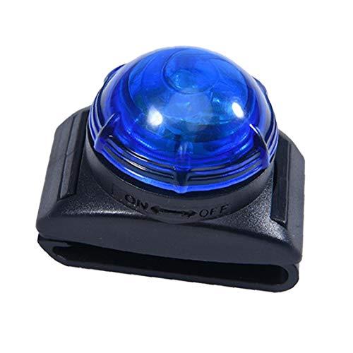 fedsjuihyg Collar De Perro De Luz Led para Mascotas Colgante Lámpara De Seguridad Advertencia Pequeño Clip De Luz para El Collar De Correo del Arnés De Accesorios para Mascotas Azul