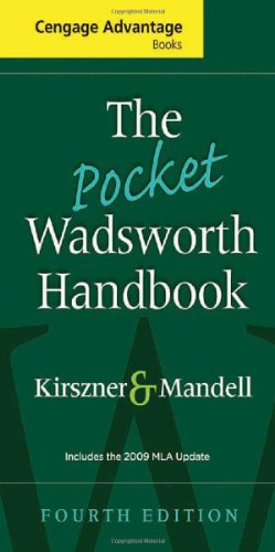 Download The Pocket Wadsworth Handbook: Includes the 2009 Mla Updated (Cengage Advantage Books) 1439081816