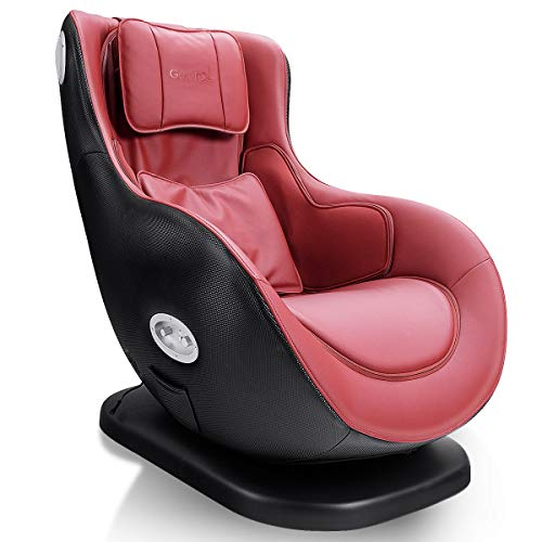 Giantex Leisure Curved Massage Chair Shiatsu Massage with Heating Therapy Video Gaming...