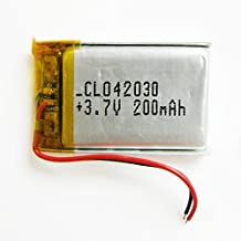 Ofeely 3.7V 200mAh 402030 Lithium Polymer Li-Po Battery li ion Rechargeable Battery for Mp3 MP4 MP5 GPS