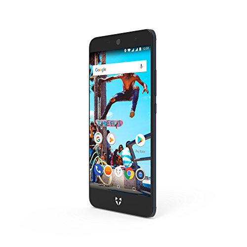 Wileyfox Swift 2 X - 5,2-Zoll-HD FHD Bildschrim - 32GB interner Speicher + 3 GB RAM Speicher (Dual-SIM-Funktionalität 4G) SIM freies Handy Android Nougat 7.1.1 - Mitternachtsblau