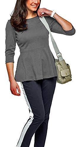 Maite Kelly Shirt 50 er Style hellgrau 978505 (52)