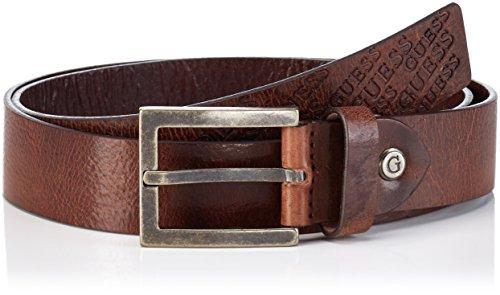 Guess BM5053LEA35 Cintura in Pelle, Uomo, Marrone (BRO), XL