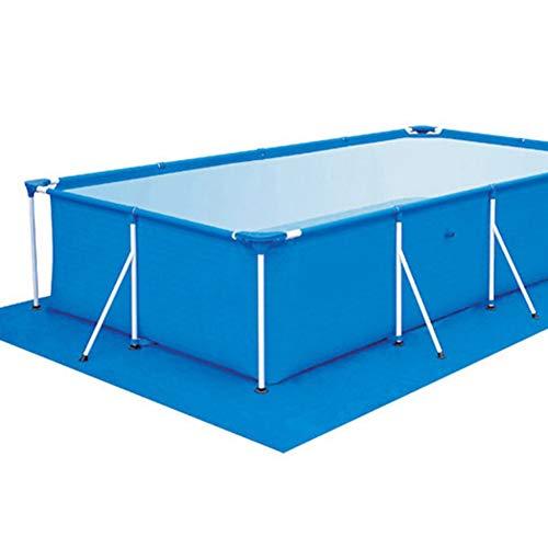 Inconnu WFZ17 Housse de sécurité rectangulaire en Polyester pour Piscine et extérieur Résistant à la poussière 300 * 200CM Bleu