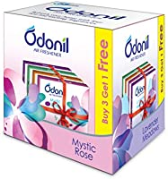 Odonil Bathroom Air Freshener Blocks – 50 g (Buy 3 get 1)