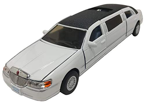 Jack Royal Kinsmart 1999 Lincoln Limousine White
