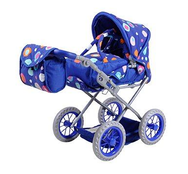 Knorrtoys 63112 Accesorio para muñecas Silla de Paseo de Juguete - Accesorios para muñecas (Silla de Paseo de Juguete, Azul, 1 Asiento(s), Niño, Chica, 510 mm)