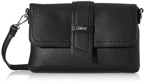 Gabor bags Clutch Abendtasche Damen Calera, Schwarz, one size, Handtasche, Tasche Damen