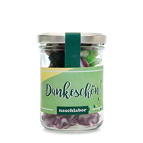 """Naschlabor Dankeschön Fruchtgummis - Das """"Dankeschön"""" als Geschenk an Familie, Freunde, Nachbarn oder Bekannte"""