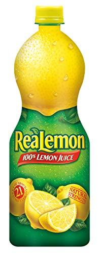 Realemon 100% Lemon Juice, 32 oz