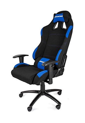 AKRacing K7012 - AK-7012-BL - Silla Gaming, Color Negro/Azul