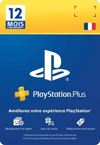 PlayStation Plus Card - Abonnement 12 Mois - [Edizione: Francia]