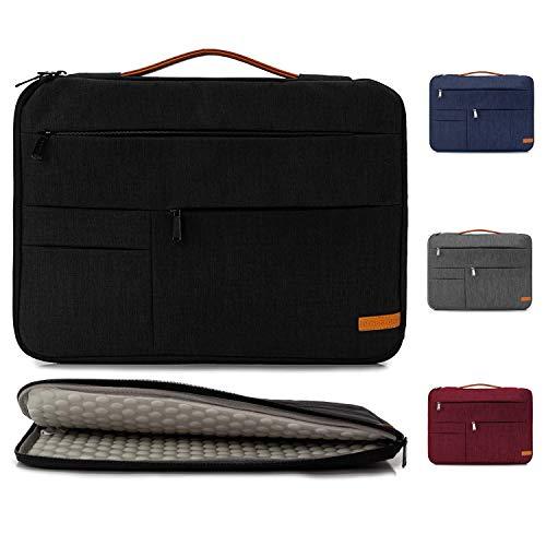 KINGSLONG 17-17.3 Pulgadas Bolsa para computadora portátil Funda Protectora Bolsa para computadora portátil Ultra Delgada, Adecuada para Acer, ASUS, DELL, Lenovo, HP, Toshiba