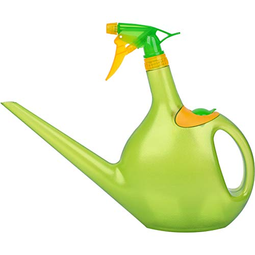 .lege Spray Fles Fijne Mist Watering Can,2 In 1 Handheld Trigger Sprayer, plant Mister Refillable Container Squirt Fles Atomizer Splash Voor Tuin 1.3l