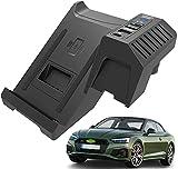 QXIAO Chargeur sans Fil Voiture pour Audi A4 S4 RS4 A5 S5 RS5 2017-2021 Panneau la Console Centrale,...