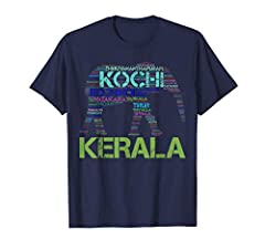 52 Cities of Kerala Show Your Kerala Pride Lightweight, Classic fit, Double-needle sleeve and bottom hem