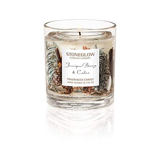 Stoneglow Seasonal Collection Genièvre et cèdre Naturel Cire Gel Gobelet