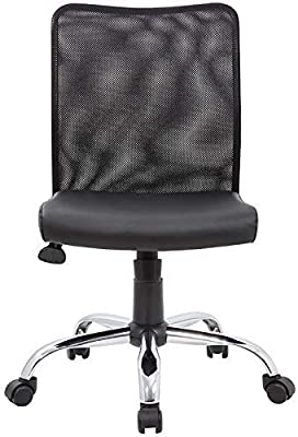 BOSS Office Products Presupuesto Silla de Tarea, Color Negro