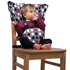 The Original Easy Seat Portable High Chair – Quick, Easy, Convenient Cloth Travel High Chair Fits in Your Hand Bag for a Happier, Safer Infant/Toddler
