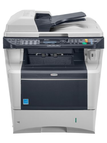 Kyocera FS-3140MFP Multifunktionsgerät (Scanner, Kopierer, Drucker und Fax) grau