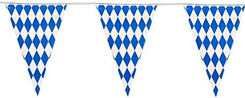Beistle 57774 Oktoberfest Pennant Banner, 17 by 30-Feet