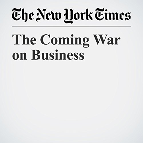 The Coming War on Business copertina