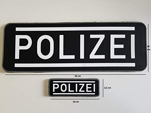 ATG Polizei Patch Set groß & klein (Set)