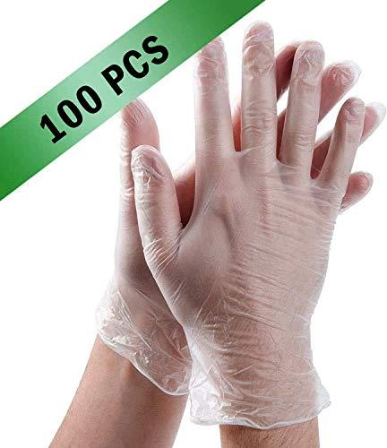 Einweg-Kunststoff-Handschuhe, transparent, Polyethylen-Handschuhe, Arbeitshandschuhe,...