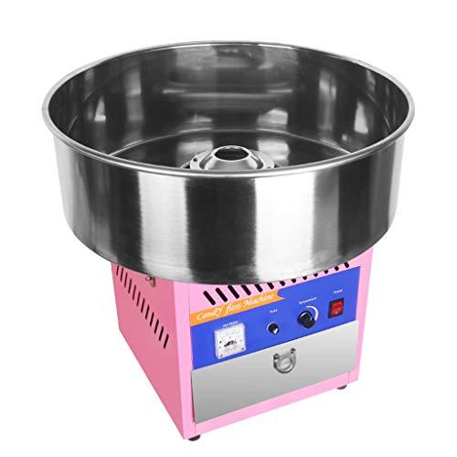 Machine à Barbe à Papa électrique en Coton électrique Machine à Barbe à Papa électrique Machine à Barbe à Papa Roscloud@ (Couleur : Pink)