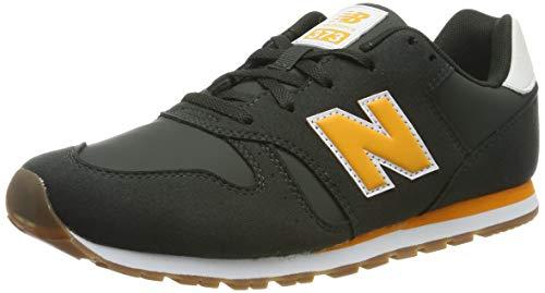New Balance Jungen 373 Sneaker, Grün (Green/Yellow Green/Yellow), 37 EU
