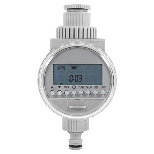 Water Timer 1Pc Solar Power Home Garden Auto Water Saving Irrigation Controller LCD Digital Watering Timer