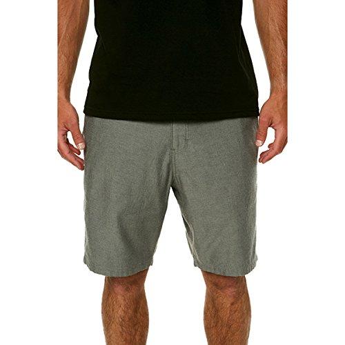 O'Neill Men's Scranton Chino Shorts, Light Grey, 30