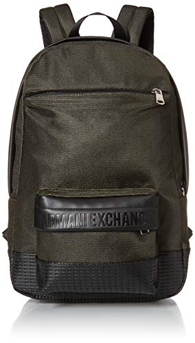A X Armani Exchange Sac à dos en toile avec logo pour...