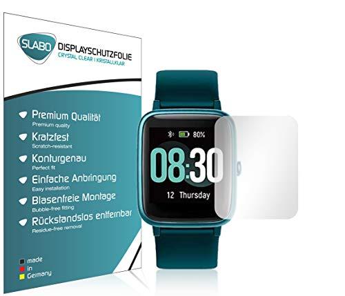 Slabo 4 x Bildschirmschutzfolie für UMIDIGI Uwatch3 Bildschirmschutz Schutzfolie Folie Crystal Clear KLAR