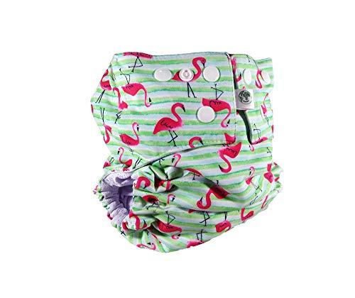 Fralda Ecológica Flamingo Dia e Natação