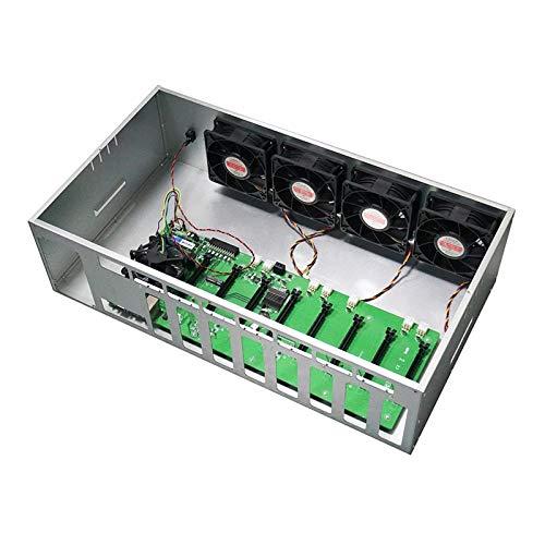 DBG ETH Ethereum Mining Machine Motherboard 580 8 GB GPU Grafikkarten Mining Rig Fall Box 8 GPU Case Bitcoin Mining Case
