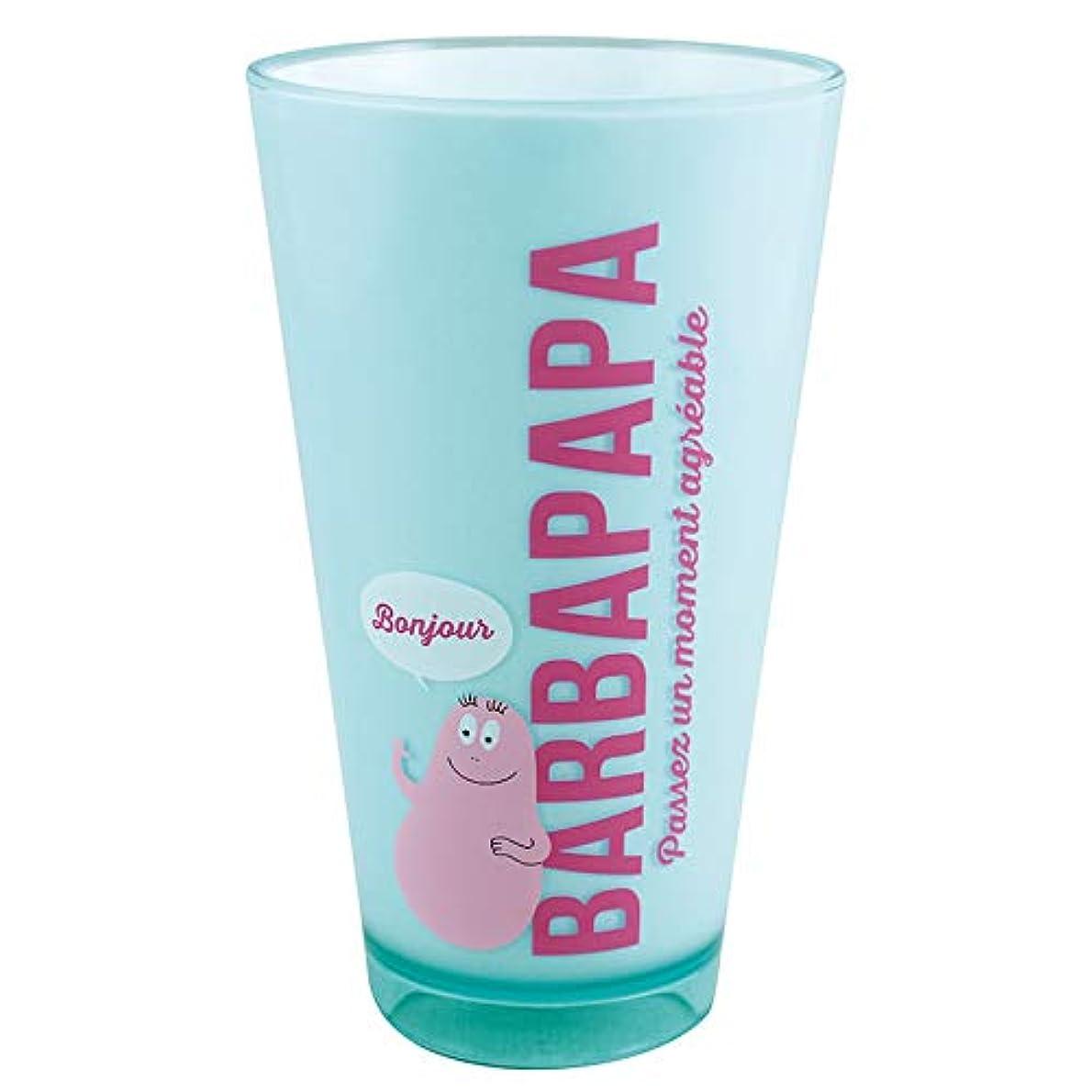 耐えられるブリリアントドリンク大西賢製販(K?Onishi) タンブラー バーバパパ/ロゴ L 620ml BARBAPAPA ACRYLIC TUMBLER BPA-900
