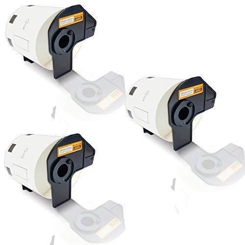 3x Kompatible Etiketten-Rollen für Brother P-Touch DK-11209 P-Touch QL 500 Series P-Touch QL 550 P-Touch QL 560 P-Touch QL 560 Series DK11209 DK 11209 29mm x 62mm Büro Pro Serie