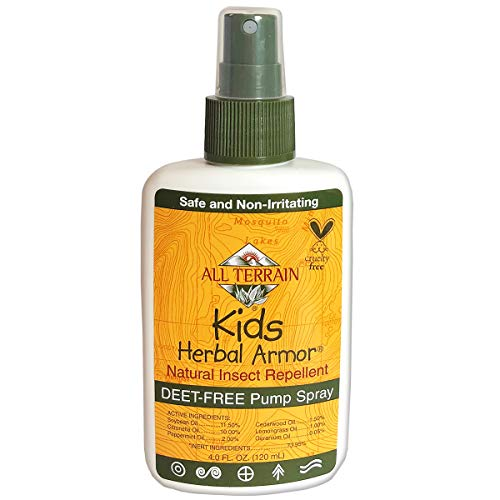 All Terrain Kids Herbal Armor Natural, DEET-FREE Insect Repellent, Pump Spray, 4 Ounce