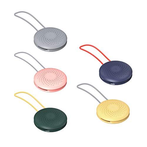 HEALLILY 5 Piezas Desodorizador de Nevera Removedor de Humedad Eliminador Neutralizador Ambientador Caja Purificadora
