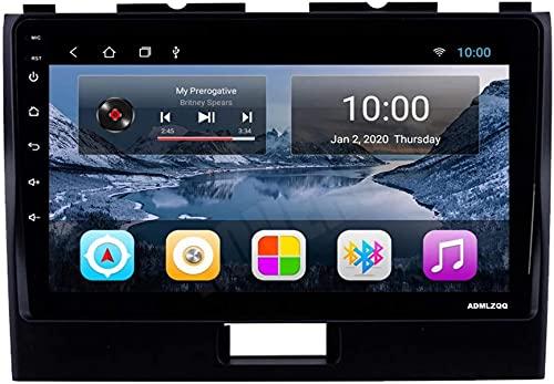 Lettore multimediale stereo automobilistico da 9 pollici per Suzuki Wagon R 2010-2018, Bluetooth/GPS/FM/Controllo della ruota del volante/Telecamera posteriore