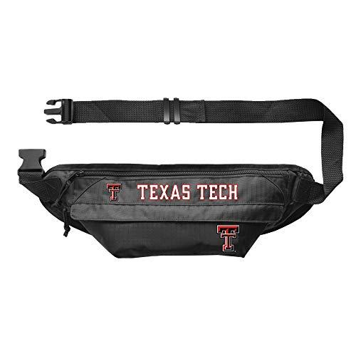 Littlearth NCAA Unisex-Erwachsene NCAA Große Bauchtasche – Hüfttasche, Unisex-Erwachsene, Little Earth NCAA Large Fanny Pack Texas Tech University, Teamfarbe, 14