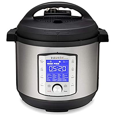Instant Pot Duo Evo Plus 9-in-1 Electric Pressure Cooker, Slow Cooker, Rice Cooker, Grain Maker, Steamer, Saute, Yogurt Maker, Sous Vide, Bake, and Warmer|8 Quart|Easy-Seal Lid|14 Programs from Instant Pot
