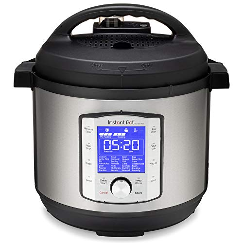 Instant Pot Duo Evo Plus 9-in-1 Electric Pressure Cooker, Slow Cooker, Rice Cooker, Grain Maker, Steamer, Saute, Yogurt Maker, Sous Vide, Bake, and Warmer|8 Quart|Easy-Seal Lid|14 Programs
