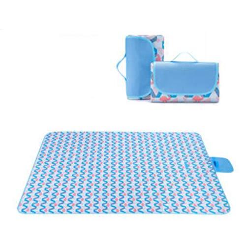 Manta de picnic al aire libre Matón de picnic plegable de Oxford, manta de picnic con respaldo impermeable plegable, lavable a máquina para acampar viajes de senderismo Ideal para playa y camping.