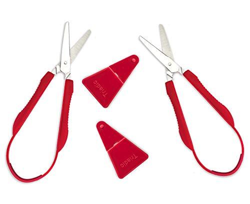 Loop Scissors for Kids, Kids Scissors for School, Kids Safety Scissors, Left Handed Scissors Kids, Child Scissors, Preschool Scissors, Childrens Scissors, Adaptive Scissors, Toddler Scissors Age 3
