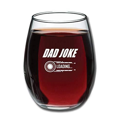 O3XEQ-8 Good-Touch Papa Witz Laden Weinglaswaren Premium Gravur Milchbecher - Lustiger Vater personalisiert Vatergeschenk White 350ml