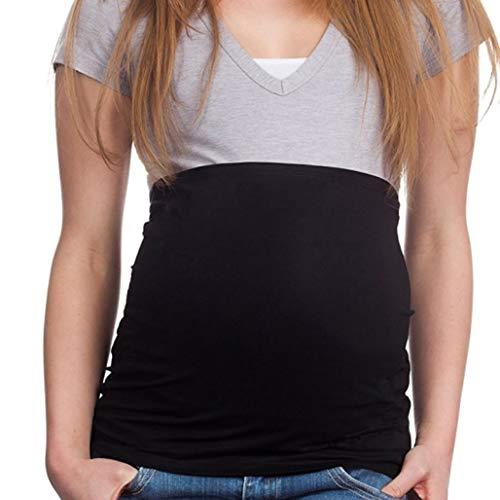 KAZOGU Cintura di Pancia in Puro Cotone Cintura di maternità per Donne Incinte Cintura di Sostegno tonificante Indietro Culla prenatale